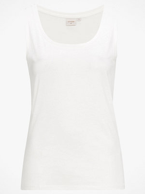 Cream Linne Naia O-neck Tank Top