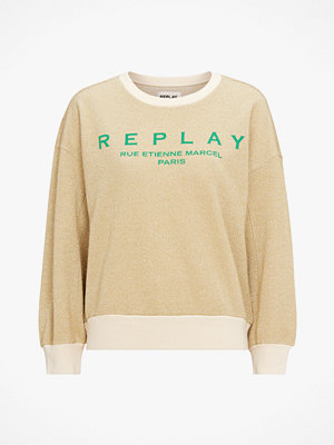 Replay Sweatshirt Gold