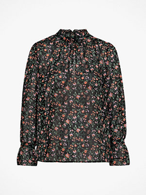 Soaked in Luxury Blus SL Floria Blouse LS