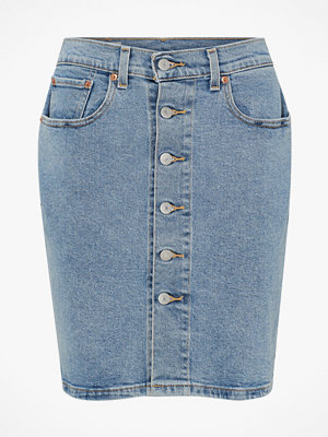 Levi's Jeanskjol Button Thru Mom Skirt