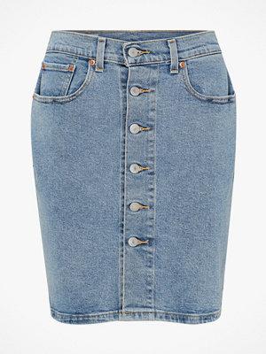 Kjolar - Levi's Jeanskjol Button Thru Mom Skirt