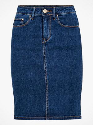 Kjolar - Vila Jeanskjol viCommit Felicia Short Skirt