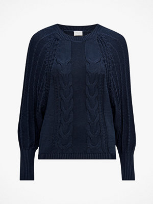 Vila Tröja viJoya Knit Volume L/S Top