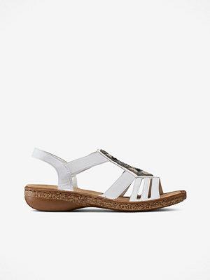 Sandaler & sandaletter - Rieker Sandaler med pärlor