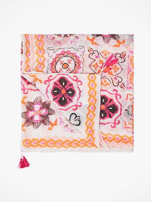 Halsdukar & scarves - Desigual Scarf Foul Rajoles Plisado