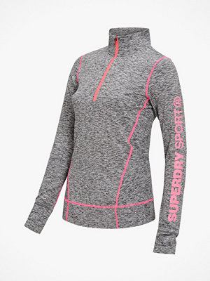 Superdry Träningströja Performance Reflective Half Zip