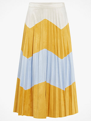 Only Maxikjol onlJune Faux Suede Maxi Skirt