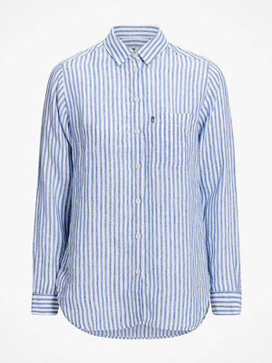 Skjortor - Lexington Skjorta Isa Linen Shirt