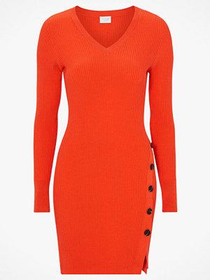Vila Klänning viSoldana Knit V-neck L/S Dress