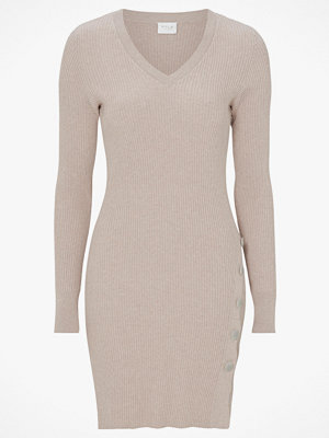 Vila Klänning viSoldana Knit V-neck L/S Dress