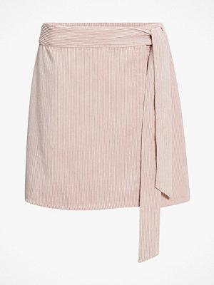 Kjolar - Only Omlottkjol onlElvira Wrap Corduroy Skirt