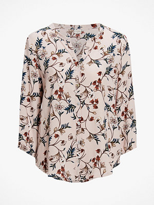 Cream Blus Dakot 3/4 Sleeve Shirt