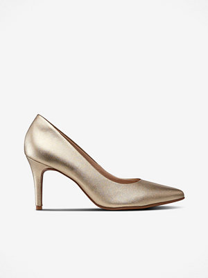 Pumps & klackskor - Shoebiz Pumps Lee Metal Dourado