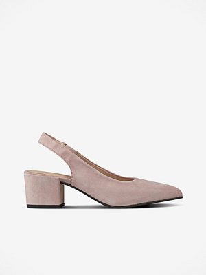 Pumps & klackskor - Shoebiz Pumps Slingback Dalusa Suede