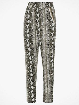 Cream Byxor Sasha Jersey Pants grå mönstrade