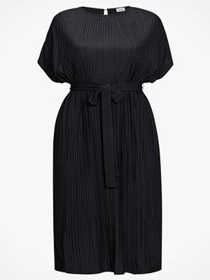 La Redoute Rak klänning i plisserad trikå med kort ärm