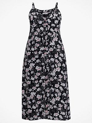 La Redoute Lång, blommig klänning med smala axelband