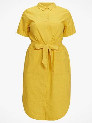 La Redoute Skjortklänning i midilängd, i linneblandning