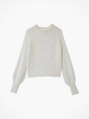 La Redoute Skimrande, stickad tröja med puffärm