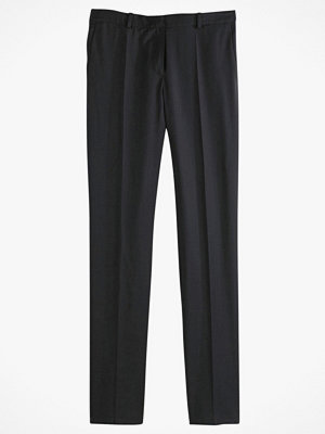 La Redoute svarta byxor Smal byxa i polyester/linne