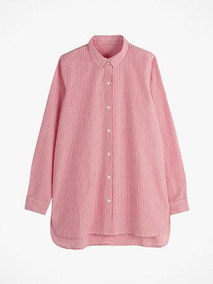 La Redoute Skjorta med lång ärm och asymmetriskt randmönster