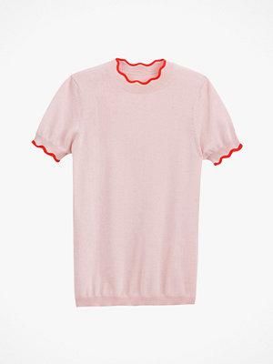 La Redoute Finstickad tröja med rund halsringning