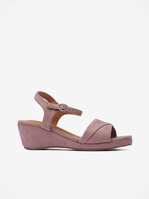 Sandaler & sandaletter - Duffy Sandalett i sammet