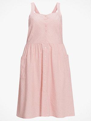 La Redoute Utställd, halvlång klänning med smala axelband och randigt mönster