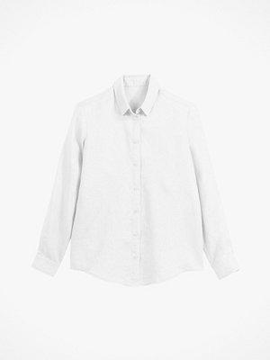 Skjortor - La Redoute Rak skjorta i linne med lång ärm