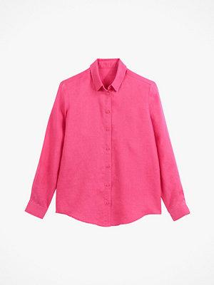 La Redoute Rak skjorta i linne med lång ärm
