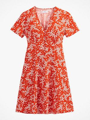 La Redoute Utställd, halvlång klänning med kort ärm
