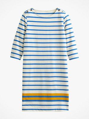 La Redoute Randig, rak klänning med rund halsringning och lång ärm