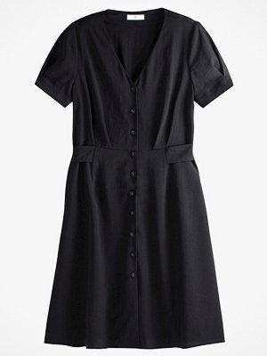 La Redoute Halvlång klänning med knäppning och kort ärm