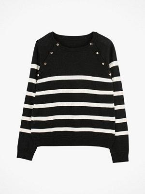 La Redoute Randig tröja med knappar