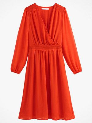 Festklänningar - La Redoute Omlottklänning med resår i midjan