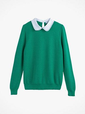 La Redoute Finstickad tröja med rund krage
