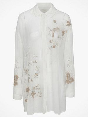 Cream Skjorta Jazmin Oversize Shirt
