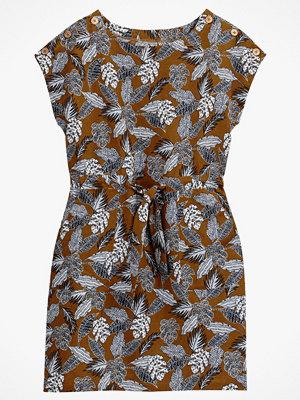 La Redoute Blommig klänning i rak, halvlång modell