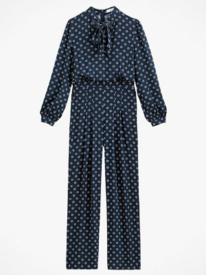 Jumpsuits & playsuits - La Redoute Jumpsuit med vida ben, prickig
