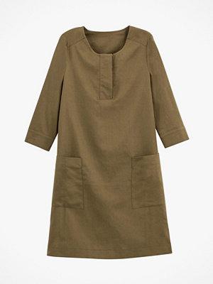 La Redoute Rak klänning med trekvartslång ärm