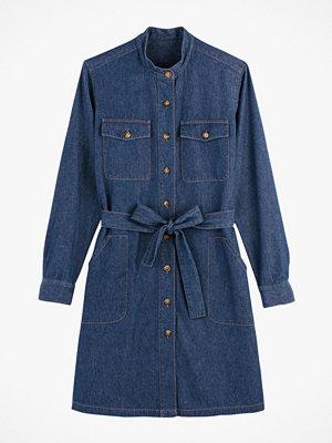La Redoute Skjortklänning i denim med lång ärm