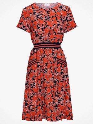 La Redoute Blommig klänning med randig linning