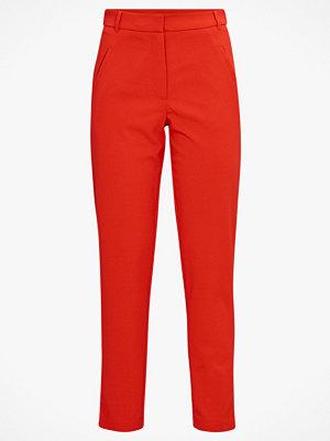 Jacqueline de Yong Byxor jdyCatia City Ancle Pants röda