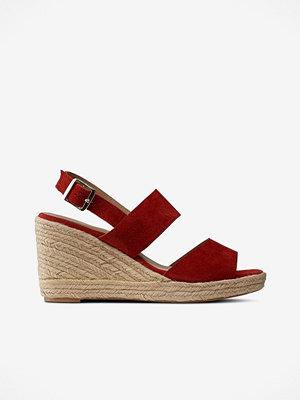 Sandaler & sandaletter - Ellos Sandalett Wedge Suede