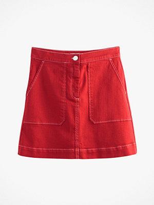 La Redoute Kort kjol med två påsydda fickor