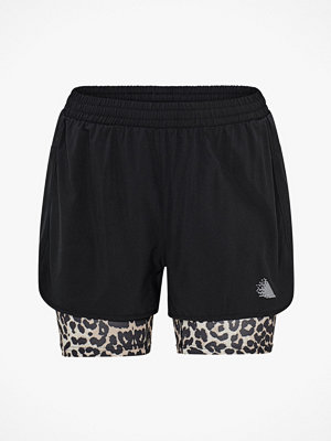 Sportkläder - Zizzi Träningsshorts aLeopard