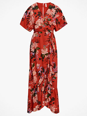 Y.a.s Maxiklänning Jungle S/S Maxi Dress