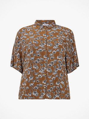 La Redoute Blommig skjorta med kort ärm