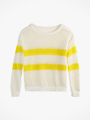 La Redoute Nätstickad tröja med båtringning