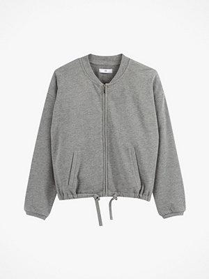 La Redoute Sweatshirt med rund halsringning och dragkedja